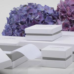 Luxe verpakkingen in het wit