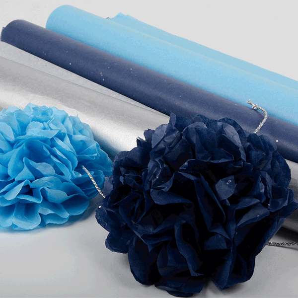 DIY: Creative ideas with tissue paper