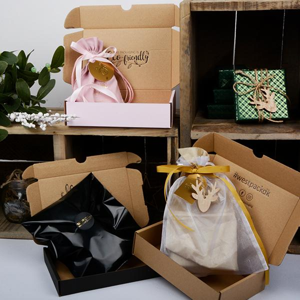 Offer to wrap the presents for your online customers