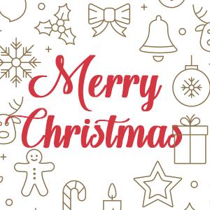 Een kerstgroet van ons allemaal.