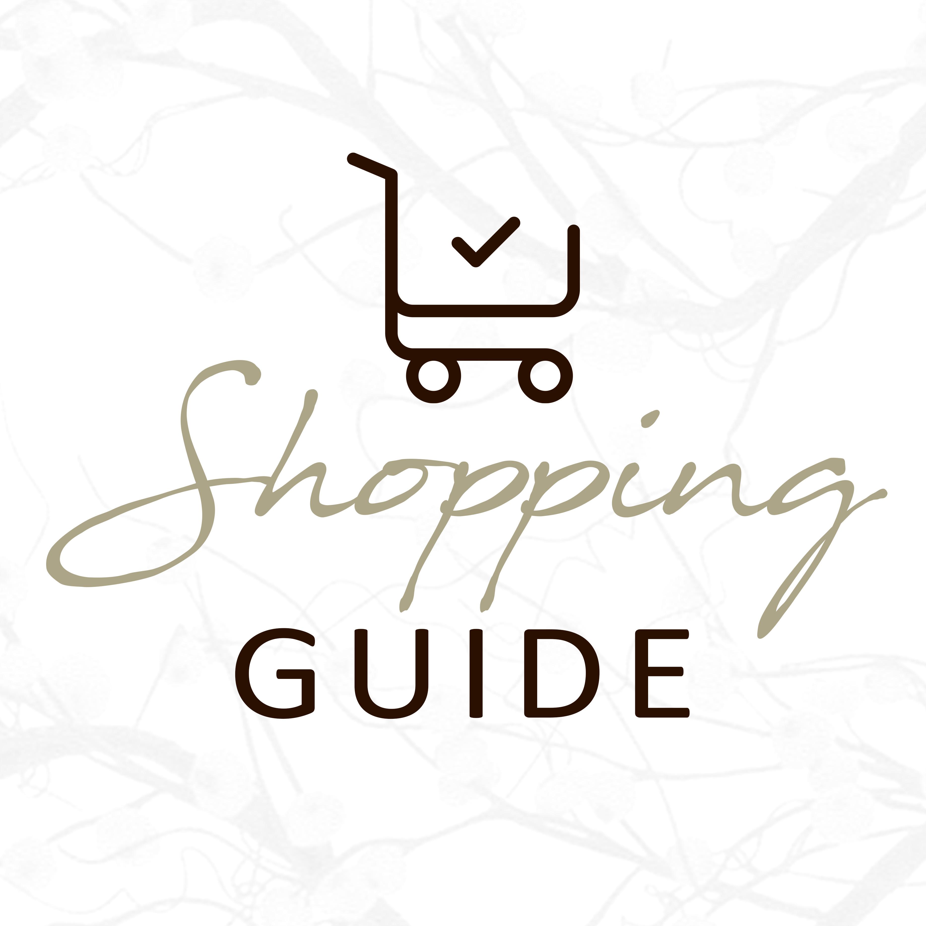 Shopping guide voor de kerst