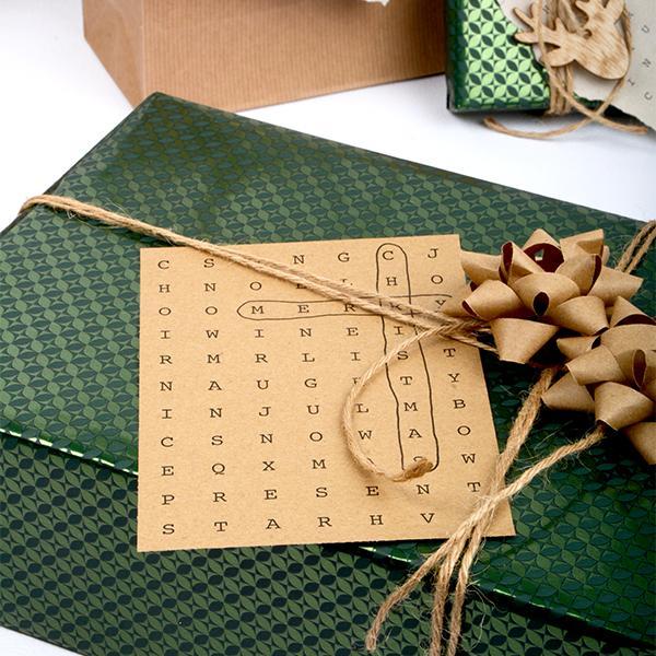 Gratis grafik: julekort med ordspil
