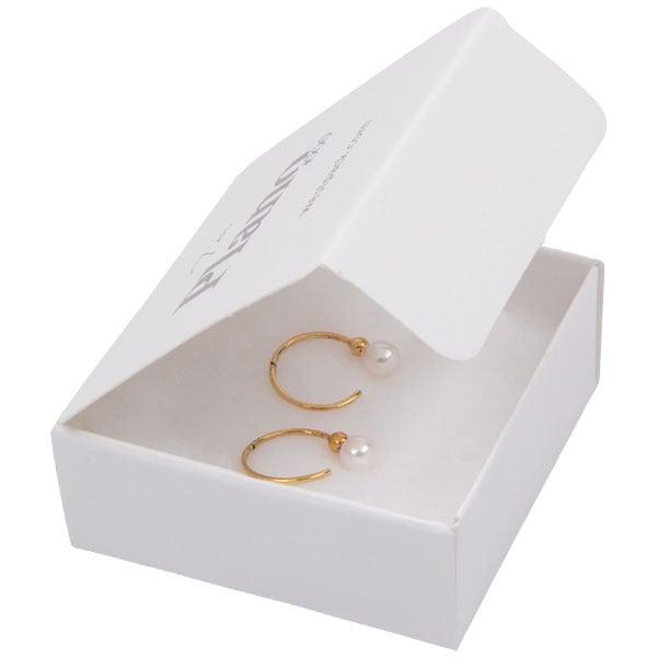 Plano 1000 Boite cadeau pour BO / pendentif Carton blanc 60 x 60 x 25