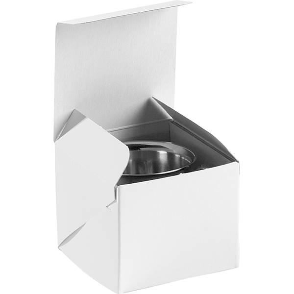 Plano 1000 Boite cadeau pour timbale naissance Carton blanc 80 x 80 x 70
