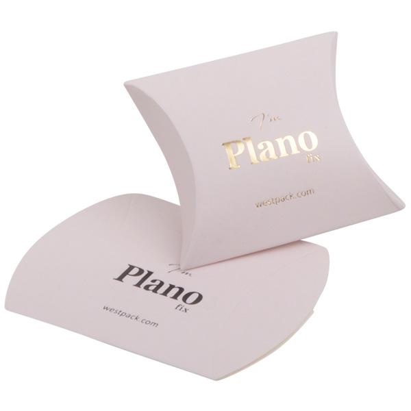 Plano Fix gondeldoosje, extra klein Cadeaudoosje in mat lichtroze karton 42 x 55 x 19