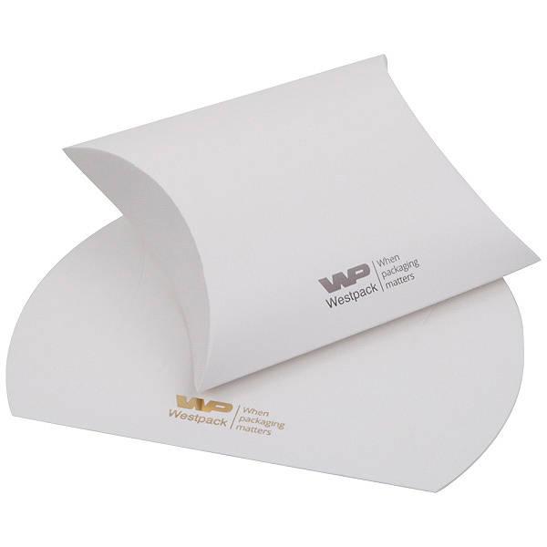 Plano Fix Berlingots pour pendentif / bracelet Carton blanc mat 100 x 110 x 39