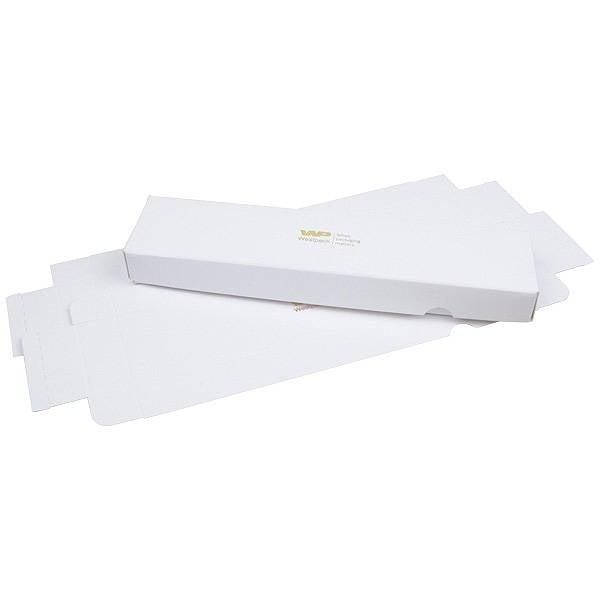 Plano A vouwbaar cadeaudoosje, 245 mm Wit karton, zijdeglans 245 x 55 x 25