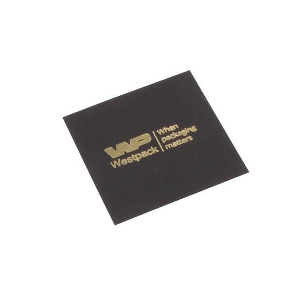 Cartouche voor bedrukking in deksel - ring Mat zwart karton 47 x 47 0 018 000 / 0 027 000