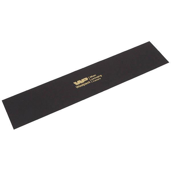 Cartouche voor bedrukking in deksel - armband Mat zwart karton 223 x 48 0 018 008 / 0 027 008