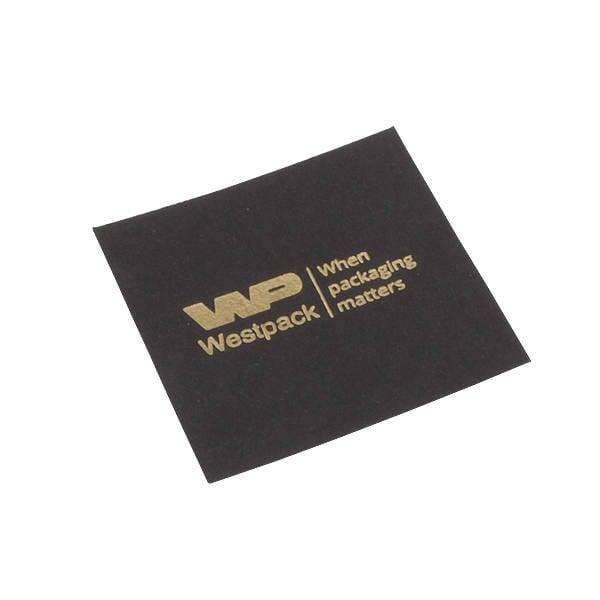 Cartouche vooor bedrukking in deksel - XL ring Mat zwart karton 56.5 x 56.5