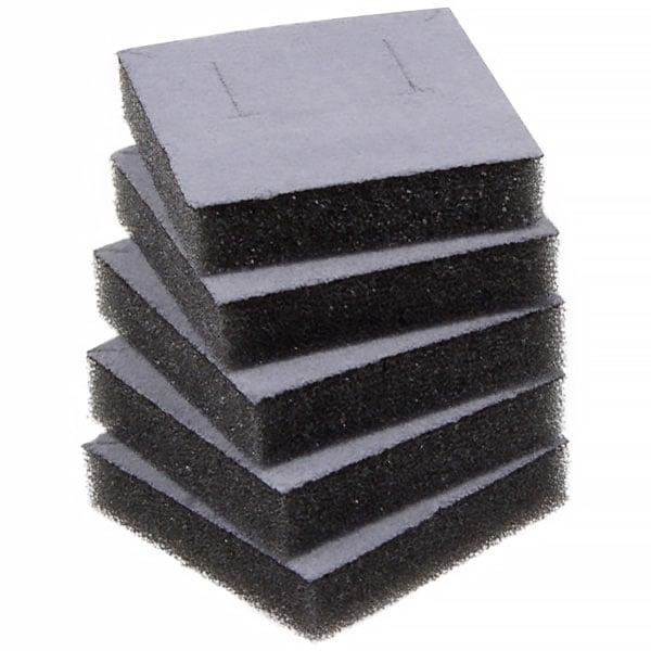 Foam insert voor Oorsieraden / Bedeltje Grijs 44 x 44 x 10 0 027 001 / 0 018 001