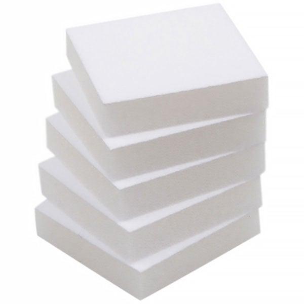Extra foam insert voor Oorsieraden / Bedeltje Wit 44 x 44 x 10 0 027 001 / 0 018 001