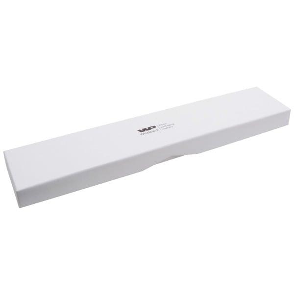 Amsterdam écrin plat pour montre Carton blanc / Mousse blanche 286 x 60 x 20