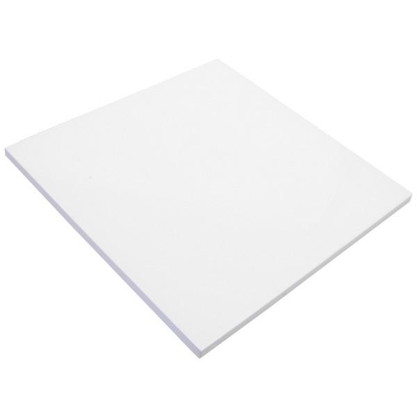 Couvercle plein pour plateau bois lacqué Couvercle blanc laqué (taille nouveau) 241 x 241 x 9