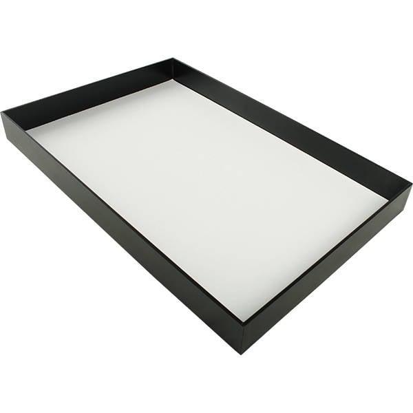 Kunstleren Sieradentableau, groot Zwart Kunstleer 284 x 434 x 42
