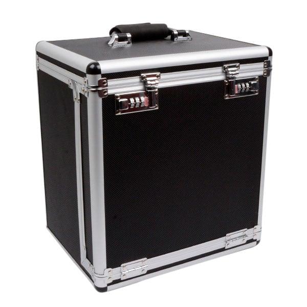 Valise transport, pour plateaux de présentation Noir / Aluminium - Excl. plateaux 310 x 240 x 350