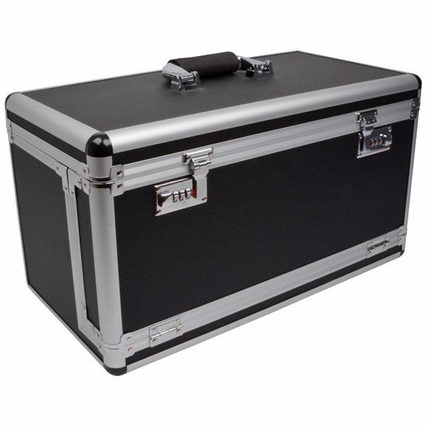 Valise transport pour plateaux ultralégers, petit Noir / Aluminium - Excl. plateaux 500 x 260 x 280