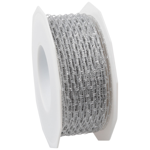 Visnet lint Zilver  40 mm x 25 m