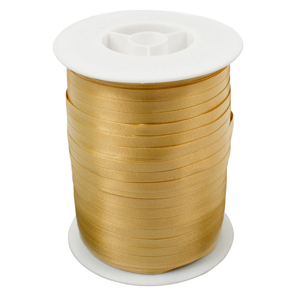 Bolduc ruban standard satiné, étroite Or  5 mm x 500 m