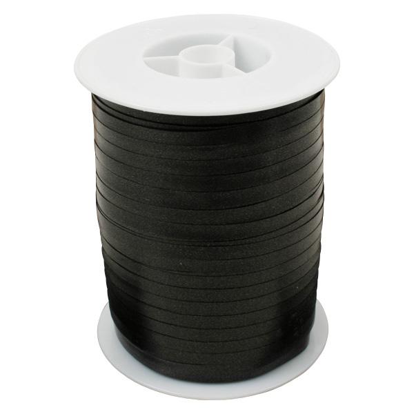 Plain lint, smal Zwart  5 mm x 500 m