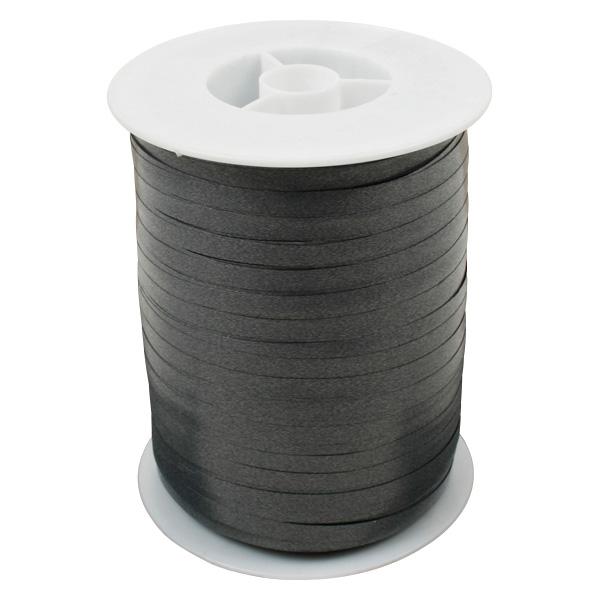 Plain lint, smal Donkergrijs  5 mm x 500 m