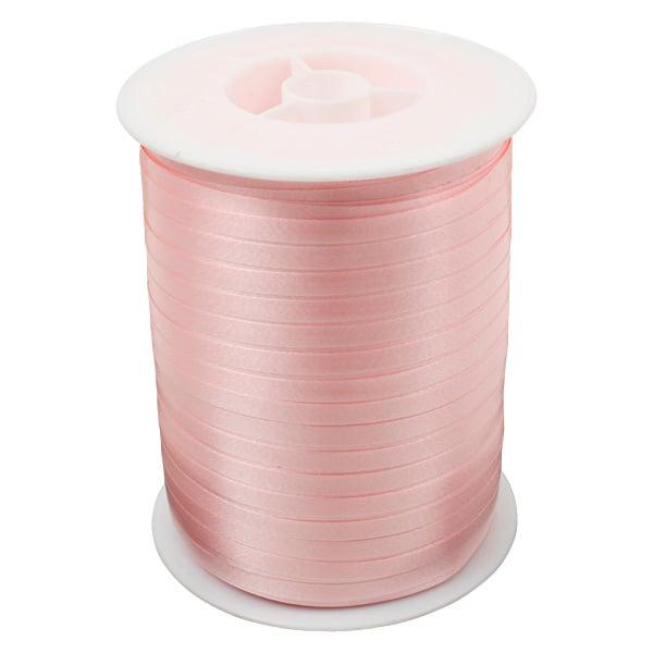 Bolduc ruban standard satiné, étroite Rose  5 mm x 500 m