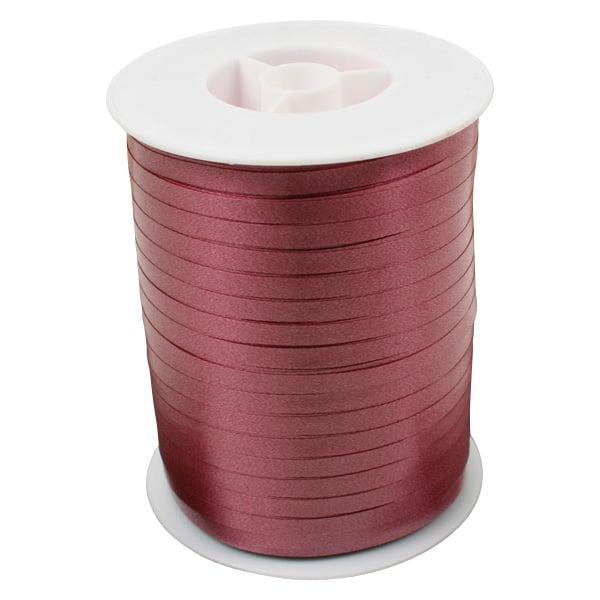 Bolduc ruban standard satiné, étroite Bordeaux  5 mm x 500 m