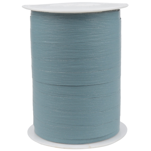 Matline lint, breed Mat Staalblauw  10 mm x 250 m
