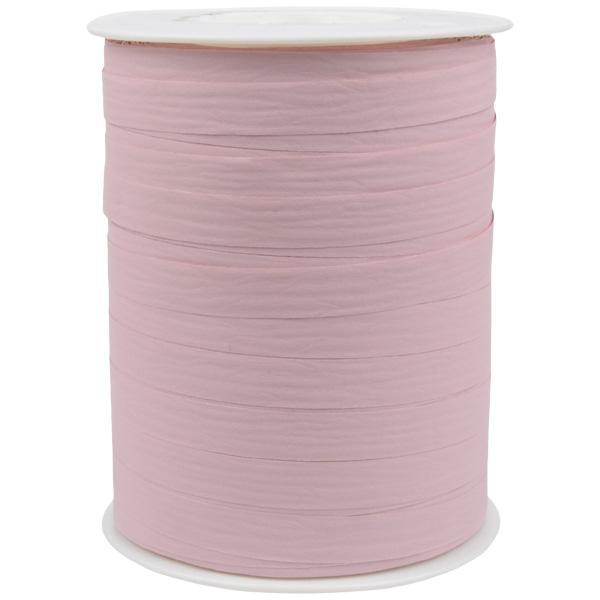 Bolduc ruban mat, avec texture Vieux rose  10 mm x 250 m