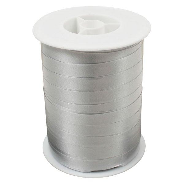 Plain lint, breed Zilver  10 mm x 250 m