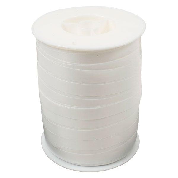 Bolduc ruban standard satiné, large Blanc  10 mm x 250 m