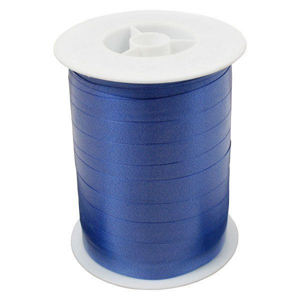 Bolduc ruban standard satiné, large Bleu royal  10 mm x 250 m