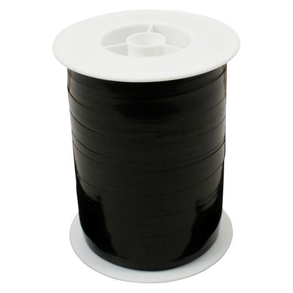 Bolduc ruban starmétal brillant, large Noir  10 mm x 250 m