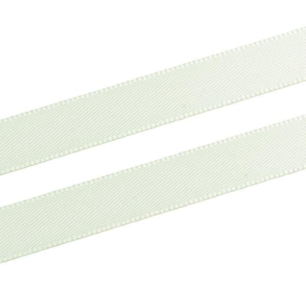 Glad satijnlint, smal Pistache  9 mm x 91,4 m
