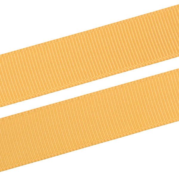 Geribbeld Satijnlint, breed Antiek goud Grosgrain lint  16 mm x 91,4 m