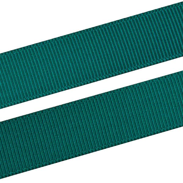 Geribbeld Satijnlint, breed Donkergroen Grosgrain lint  16 mm x 91,4 m