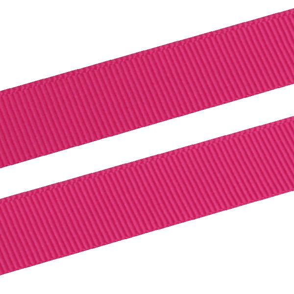 Geribbeld Satijnlint, breed Cerise Grosgrain lint  16 mm x 91,4 m