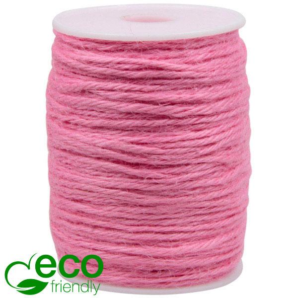 ECO Corde de jute Rose clair  2 mm x 100 m