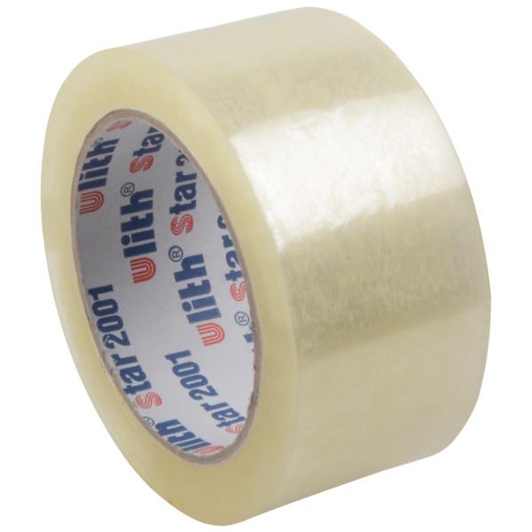 50mm zelfklevende tape, voor tapepistool Transparante tape  50 mm x 66 m