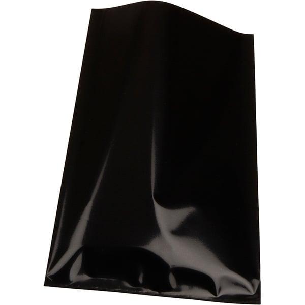 Foliezakje klein, 500 st. Glanzend zwart 80 x 125