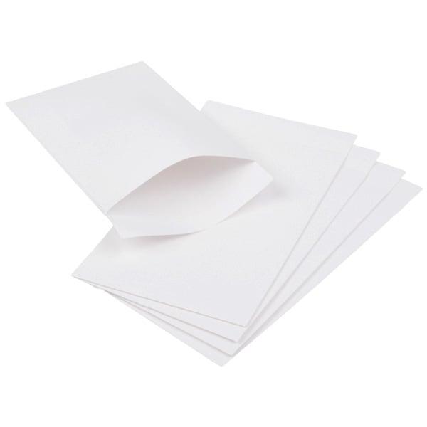 Kraftzakje klein, 250 st. Wit kraftpapier 75 x 130 100 gsm