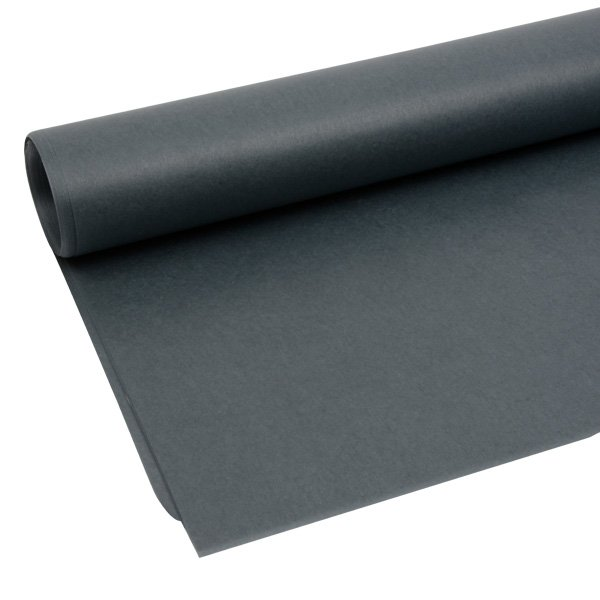 Zijdevloeipapier, 480 vellen Donkergrijs 760 x 505 17 gsm