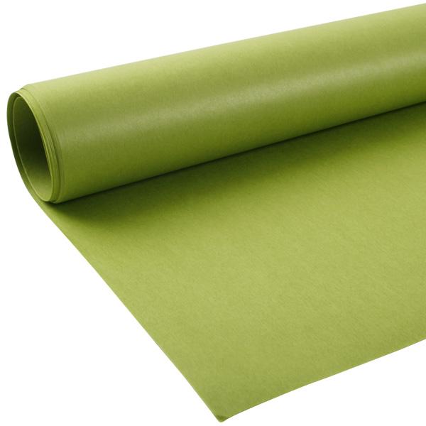 Zijdevloeipapier, 480 vellen Lime 760 x 505 17 gsm
