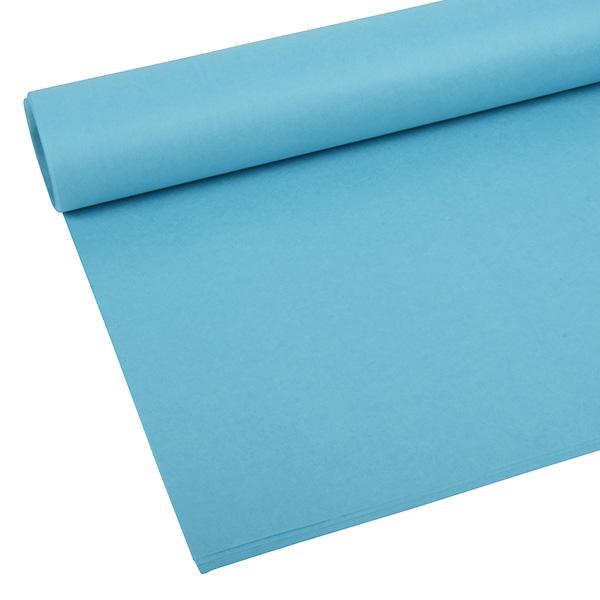 Papier de soie x 480 feuilles Bleu ciel 760 x 505 17 gsm
