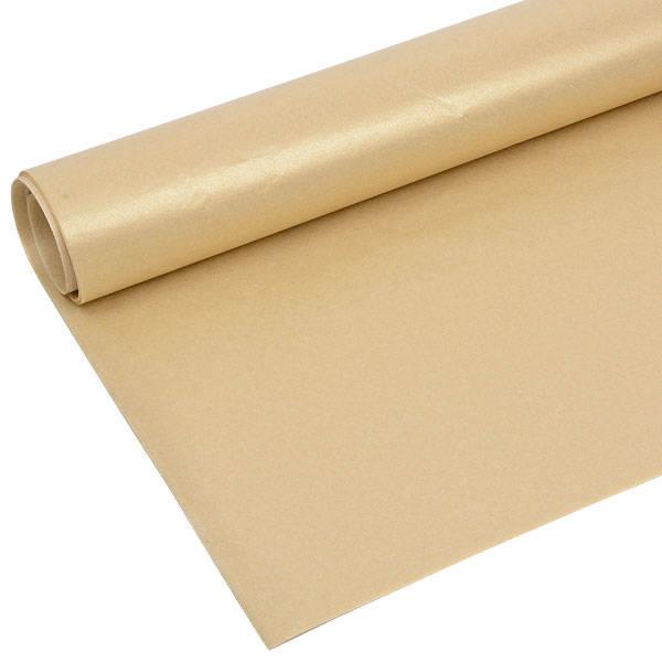 Zijdevloeipapier met parelglans, 240 vellen Goud parelmoer 760 x 505 17 gsm