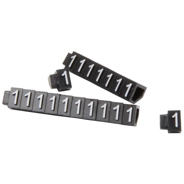 5 mm Prijsblokjes voor sieraden, 20 st. Nr. 1