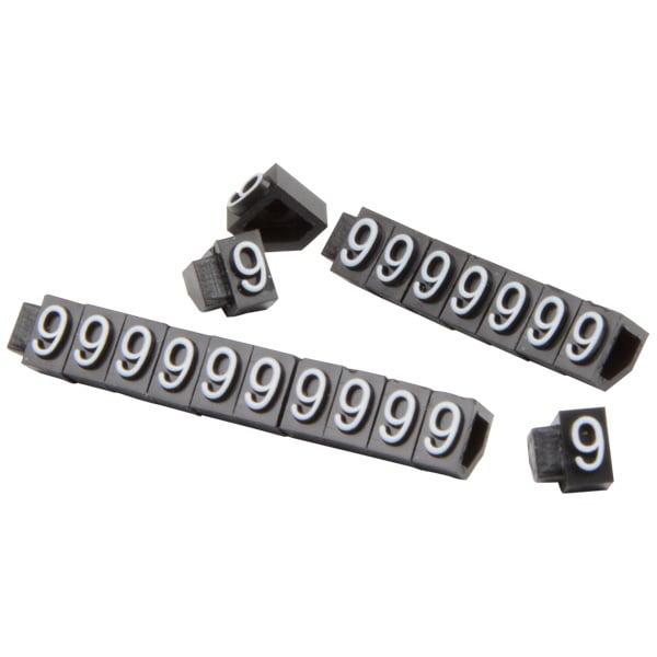 5 mm Prijsblokjes voor sieraden, 20 st. Nr. 9