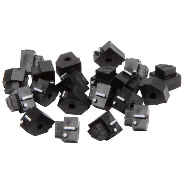 Chiffres prix pour bijoux 5 mm, 20 pcs. Cube de fin avec .-