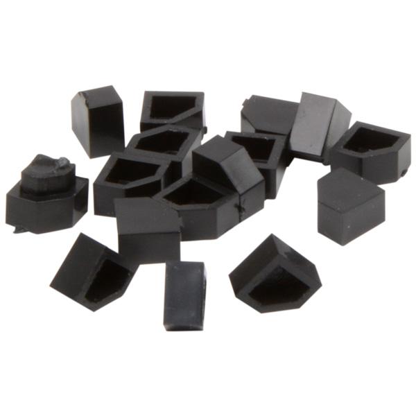 5 mm Prijsblokjes voor sieraden, 20 st. Startblokje, blanco
