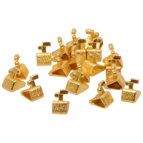 Chiffres prix de luxe pour bijoux 8 mm, 20 pcs Cube de fin avec .-, Couleur or